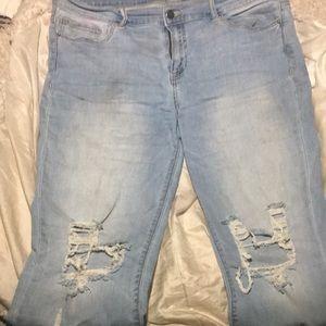 Fashion nova vintage jeans size 13 very Stretchy